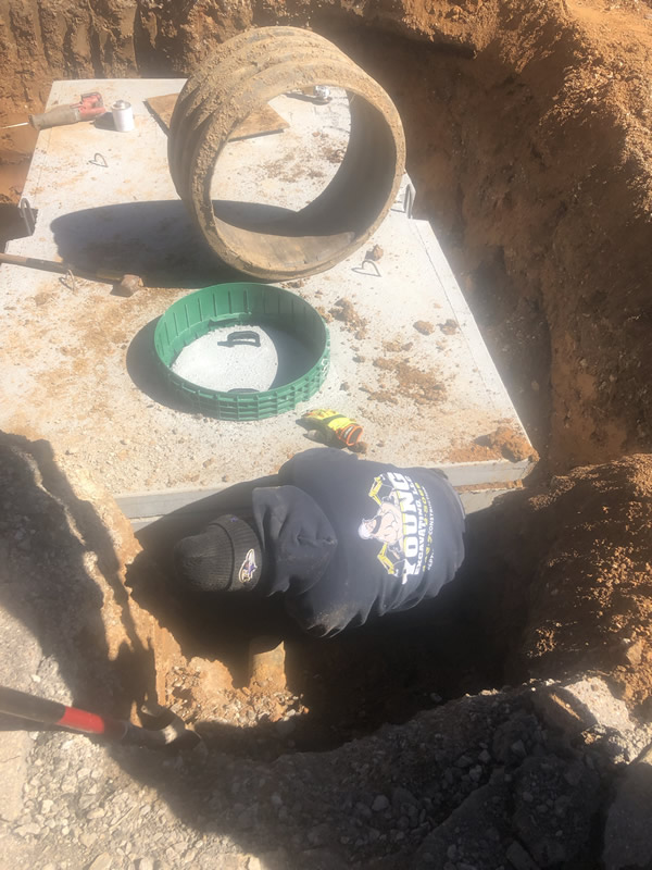 septic installation, septic pumping